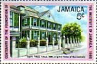 [The 100th Anniversary of Institute of Jamaica, type QM]