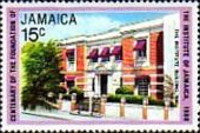 [The 100th Anniversary of Institute of Jamaica, type QN]