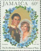 [The 21st Anniversary of the Birth of HRH The Princess of Wales, type SZ]