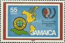 [International Youth Year and 5th Pan-American Scouting Jamboree, type VT1]