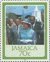 [The 60th Anniversary of the Birth of HRM The Queen Elizabeth II, type WI]