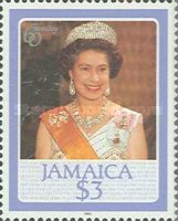 [The 60th Anniversary of the Birth of HRM The Queen Elizabeth II, type WJ]