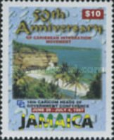 [The 50th Anniversary of Caribbean Integration, type XFN]
