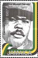 [The 100th Anniversary of the birth of Marcus Mosiah Garvey, 1887-1940, type XK]