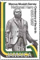 [The 100th Anniversary of the birth of Marcus Mosiah Garvey, 1887-1940, type XL]