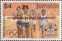 [Olympic Games Overprinted in Black or Red