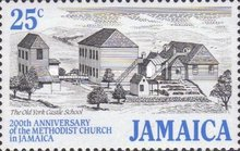 [The 200th Anniversary of Methodist Church in Jamaica, type ZC]