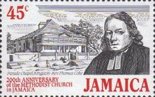 [The 200th Anniversary of Methodist Church in Jamaica, type ZD]
