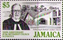 [The 200th Anniversary of Methodist Church in Jamaica, type ZE]