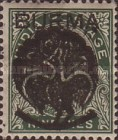 [Burma Postage Stamps Overprinted Peacock - Myaungmya Issue, Typ A]