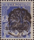 [Burma Official Stamps Overprinted Peacock Myaungmya Issue, Typ A7]