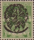 [Burma Postage Stamps Overprinted Peacock - Myaungmya Issue, Typ B2]