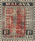 [Coat of Arms - Negri Sembilan Stamps Handstamped Overprinted with Seal, Typ A1]