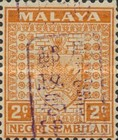 [Coat of Arms - Negri Sembilan Stamps Handstamped Overprinted with Seal, Typ A7]