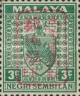 [Coat of Arms - Negri Sembilan Stamps Handstamped Overprinted with Seal, Typ A8]