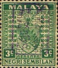 [Coat of Arms - Negri Sembilan Stamps Handstamped Overprinted with Seal, Typ A9]