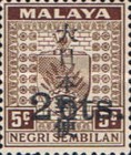 [Coat of Arms - Negri Sembilan Stamps Overprinted Japanese Postal Service in Japanese, Typ C1]