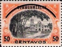 [Philippines Postage Stamps Surcharged, Typ A5]