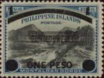 [Philippines Postage Stamps Surcharged, Typ A6]