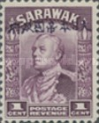 [Sir Charles Vyner Brooke - Sarawak Postage Stamps of 1934 Overprinted, type A]