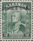 [Sir Charles Vyner Brooke - Sarawak Postage Stamps of 1934 Overprinted, type A1]