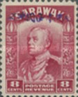 [Sir Charles Vyner Brooke - Sarawak Postage Stamps of 1934 Overprinted, type A10]