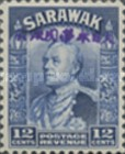 [Sir Charles Vyner Brooke - Sarawak Postage Stamps of 1934 Overprinted, type A12]