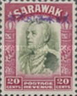 [Sir Charles Vyner Brooke - Sarawak Postage Stamps of 1934 Overprinted, type A16]