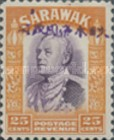 [Sir Charles Vyner Brooke - Sarawak Postage Stamps of 1934 Overprinted, type A17]