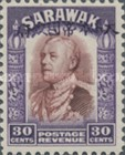 [Sir Charles Vyner Brooke - Sarawak Postage Stamps of 1934 Overprinted, type A18]