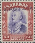 [Sir Charles Vyner Brooke - Sarawak Postage Stamps of 1934 Overprinted, type A19]