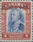[Sir Charles Vyner Brooke - Sarawak Postage Stamps of 1934 Overprinted, type A23]