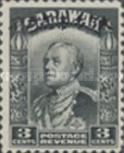 [Sir Charles Vyner Brooke - Sarawak Postage Stamps of 1934 Overprinted, type A3]
