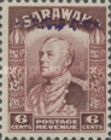[Sir Charles Vyner Brooke - Sarawak Postage Stamps of 1934 Overprinted, type A8]
