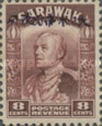 [Sir Charles Vyner Brooke - Sarawak Postage Stamps of 1934 Overprinted, type A9]