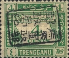 [Numeral Stamps - Trengganu Postage due Stamps Overprinted with Seal, Typ A1]