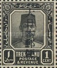 [Sultan Suleiman ibn Zainal Abidin - Trengganu Postage Stamps Overprinted in Japanese, Typ C]