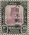 [Sultan Suleiman ibn Zainal Abidin - Trengganu Postage Stamps Overprinted in Japanese, Typ C11]