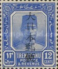 [Sultan Suleiman ibn Zainal Abidin - Trengganu Postage Stamps Overprinted in Japanese, Typ C8]