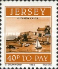 [Postage Due Stamps - Jersey Harbour, Typ AA]