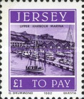 [Postage Due Stamps - Jersey Harbour, Typ AB]