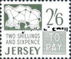 [Postage Due Stamps, Typ B1]