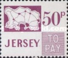[Postage Due Stamps - Map of Jersey, Typ B16]
