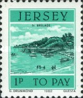 [Postage Due Stamps - Jersey Harbour, Typ O]