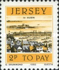 [Postage Due Stamps - Jersey Harbour, Typ P]
