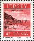 [Postage Due Stamps - Jersey Harbour, Typ R]