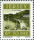 [Postage Due Stamps - Jersey Harbour, Typ T]