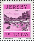 [Postage Due Stamps - Jersey Harbour, Typ U]