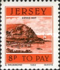 [Postage Due Stamps - Jersey Harbour, Typ V]
