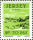 [Postage Due Stamps - Jersey Harbour, Typ W]